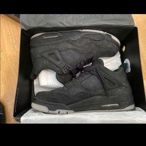 Jordan 4 black kaws